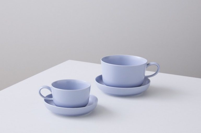 「original color cup & saucer」  Blue Bottle Coffee